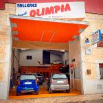 """Talleres mecánicos Rapid Olimpia Nicaragua """"Polígono de los Villares"""""""