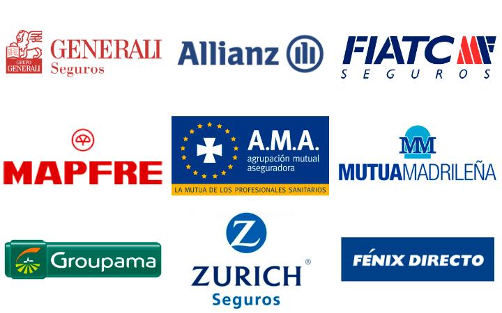 Talleres mecánicos compañías de seguros